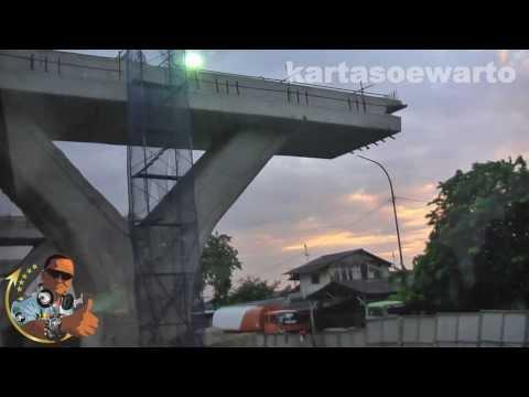 Tanjung Priok Flyover Constructions - Jakarta 2013