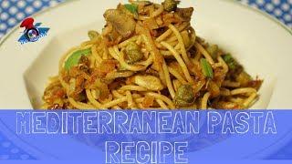 Mediterranean Pasta Recipe   Vegetables Broth   #DoStathi #20K3M