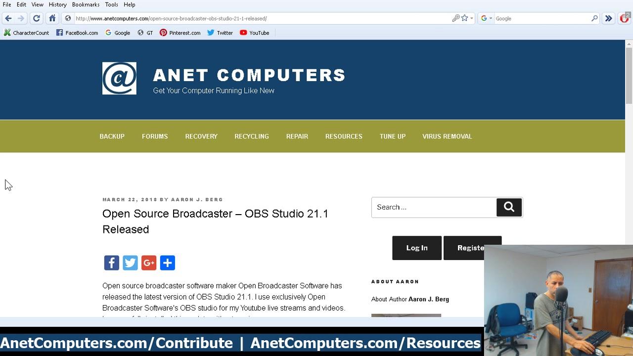 Open Source Broadcaster - OBS Studio 21 1 Released