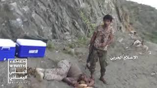 Война в Йемене. Фрагмент боя с участием хуситов