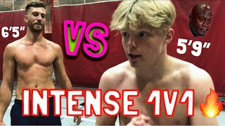 INTENSE 1V1 AGAINST MY TRAINER!!