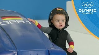 If Cute Babies Competed In The Winter Games | Olympic