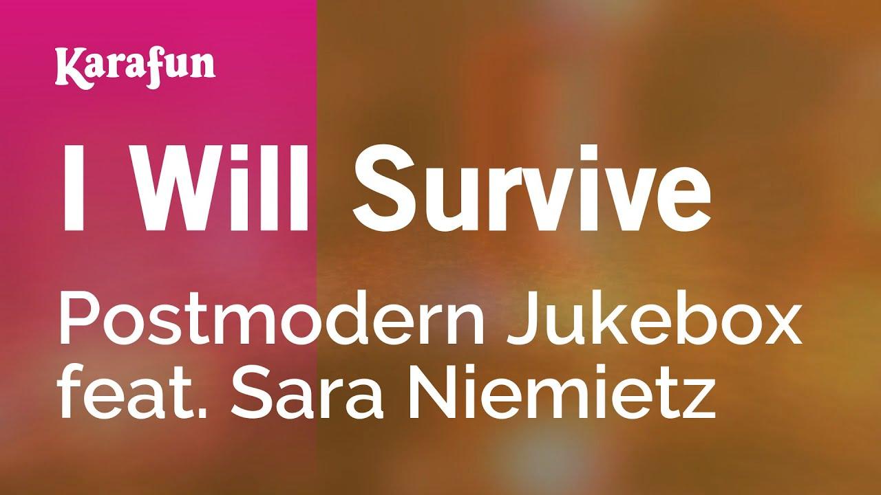 Karaoke I Will Survive - Postmodern Jukebox * - YouTube