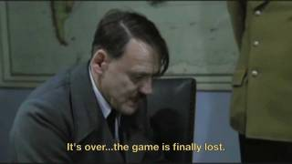 Hitler loses a game of Stratego