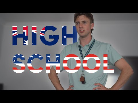 Australia Vs America High School Edition