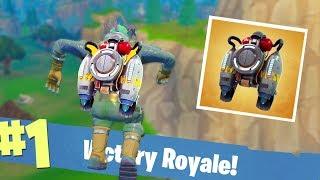 WINNEN MET NIEUWE *JETPACK*!? - Fortnite Battle Royale