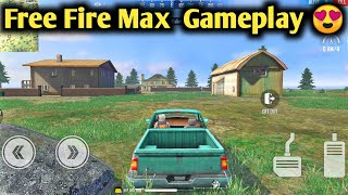 Free Fire MAX Gameplay - New Graphics, New Gun Sound, Updated Vehicle and Many More.
