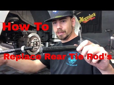 How To Replace Lincoln Navigator Rear Tie Rods