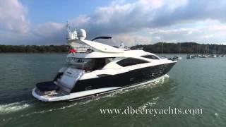 Sunseeker Yacht 82 FANTASIA