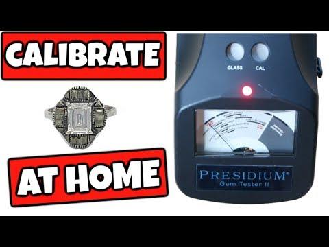 How To Calibrate Presidium Gem Tester Ii (PGT II)   Calibration Repair At Home