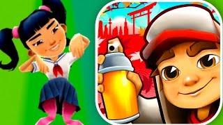HARUMI AND KITTY BOARD! (High Score) Subway Surfers: Tokyo Gameplay