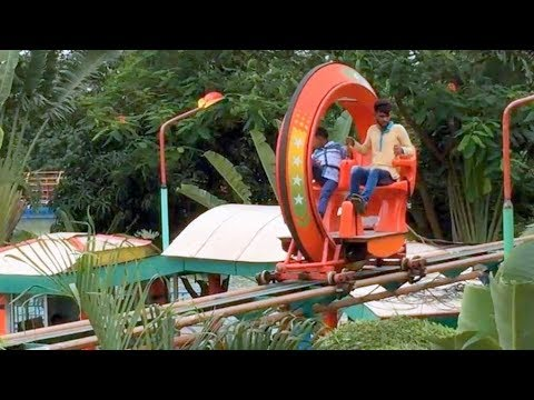 Extream Air Bicycle Ride Experience at Dream Holiday  Park/Pachdhona/Narsingdi/Theme Park Attraction