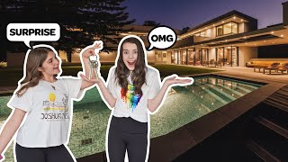 My Best Friend Surprised Me With A MEGA MANSION **MILLION DOLLAR HOUSE TOUR**🏡| Symonne Harrison
