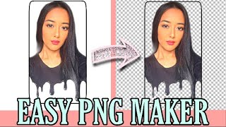 Gambar cover Easiest PNG Logo Maker on iPhone/iPad | Perfect for Youtube Branding Watermark
