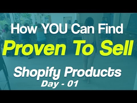 Make Money with Print on Demand POD Day 1 | Finding Products to Sell on your Shopify