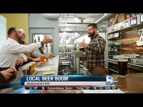 RIT on TV: Two RIT grads run successful brewery on WROC (CBS)