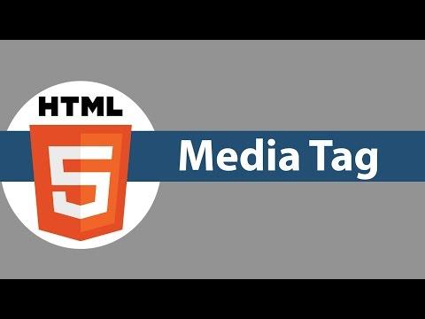 HTML5 Tutorial For Beginners #12 HTML5 Media Tag
