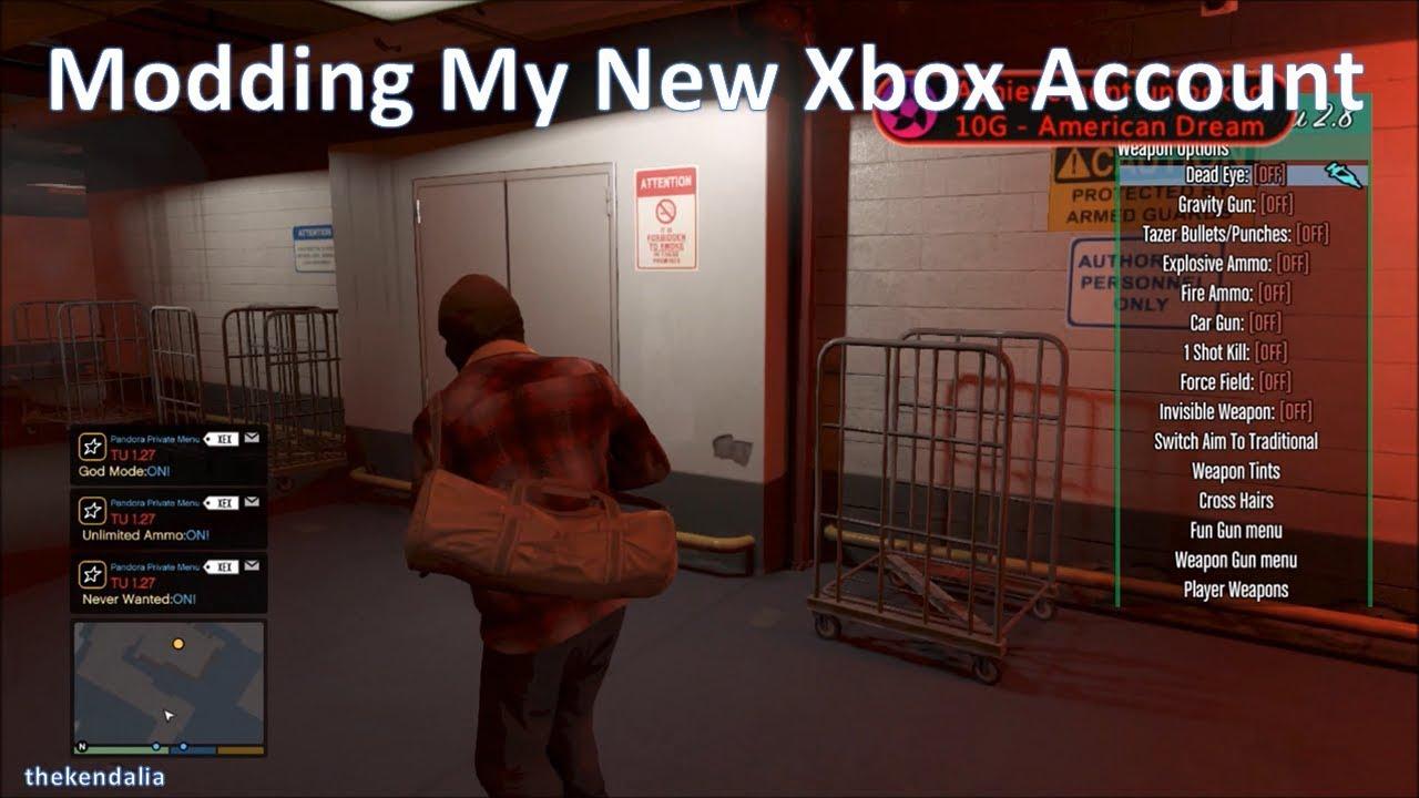 Modding my Xbox Account lol