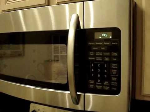 ge spacemaker microwave oven model jvm1752 makes loud buzzing noise