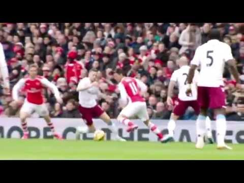 Mesut Ozil Returns 2015 - Composure & Class