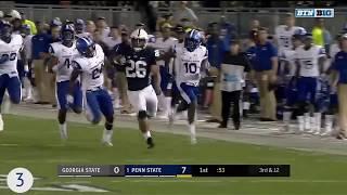 Penn State Football 2017 Top 10 Plays