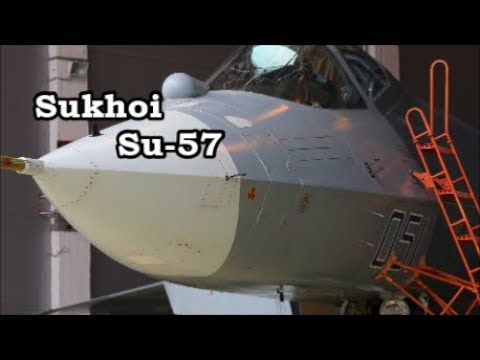 Russia's Sukhoi Su-57, 5th-Generation Fighter Jet Gets Advanced Stealth Coating