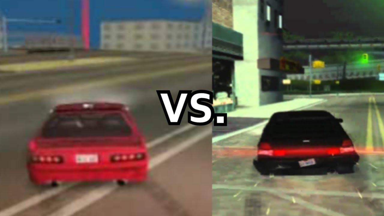 san andreas vs vice city vs gta 3