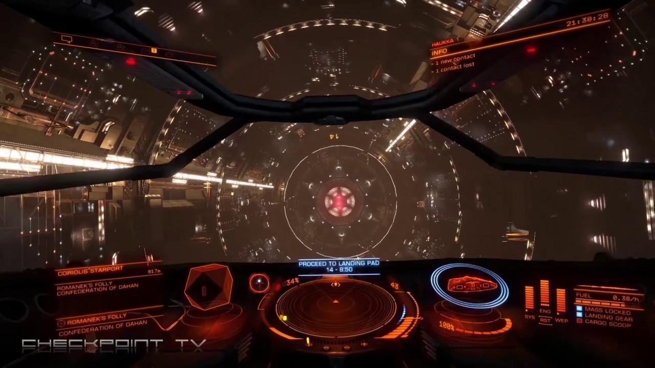 Elite Dangerous First Flight on Xbox One X