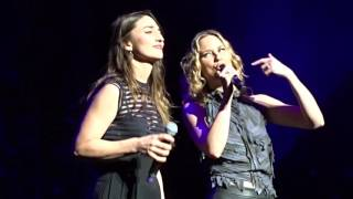 Jennifer Nettles and Sara Bareilles - She Used To Be Mine -  NYC 1/20/16 - NOT FULL SONG