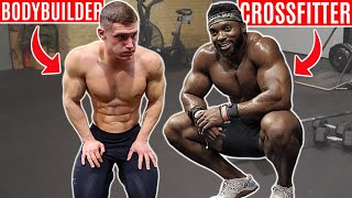 BODYBUILDER tries CROSSFIT ft. Obi Vincent