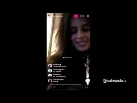 Camila Cabello - Directo en Instagram (20 de Mayo) [Subtitulado]