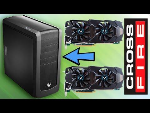 Как установить две видеокарты AMD Radeon CrossFire