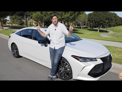 2019 Toyota Avalon Touring First Drive Video Review