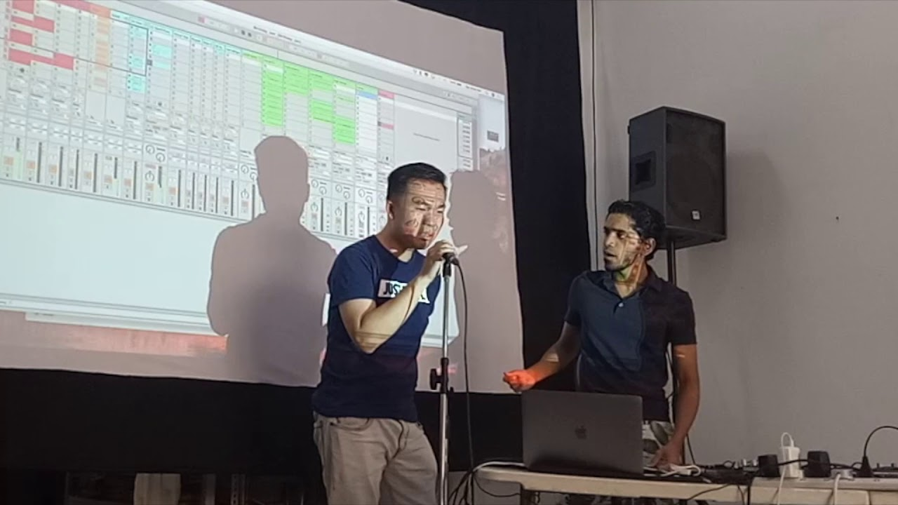 Ableton Looping Workshop in Singapore by Mantravine