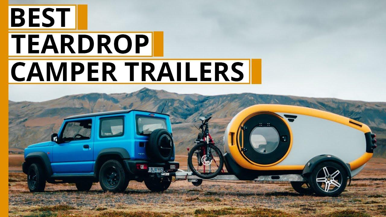 7 Amazing Off Road Teardrop Camper Trailer