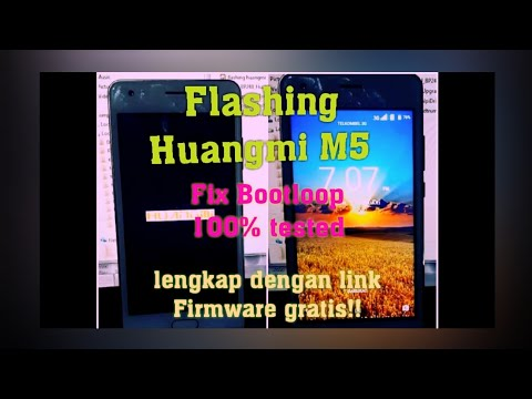 FLASHING HUANGMI M5 100% TESTED