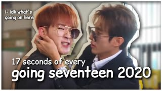 17 seconds of every going seventeen 2020 episode