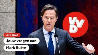 TERUGKIJKEN: Jouw vragen aan Mark Rutte (VVD)