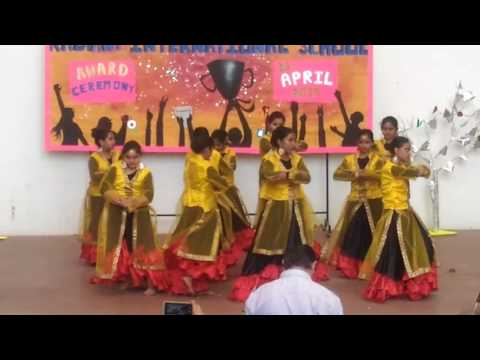 Fusion dance at Radiant Intentional school Patna 28 april