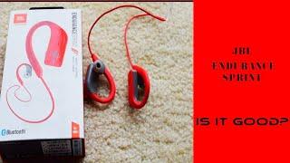 JBL Endurance Sprint Headphone review
