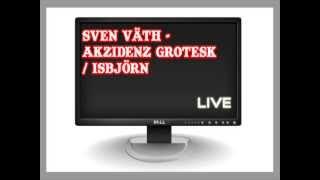 Sven Väth - Akzidenz Grotesk / Isbjörn