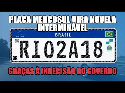 Placa Mercosul vira novela interminável graças à indecisão do governo