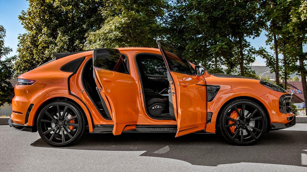 Ето го и новото Porsche Cayenne Coupe (2020) силно преработено от MANSORY!