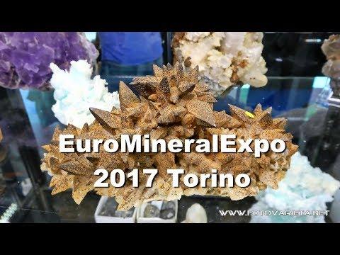 EuroMineralExpo 2017 Torino, International Exhibition Of Minerals & Fossils (3)