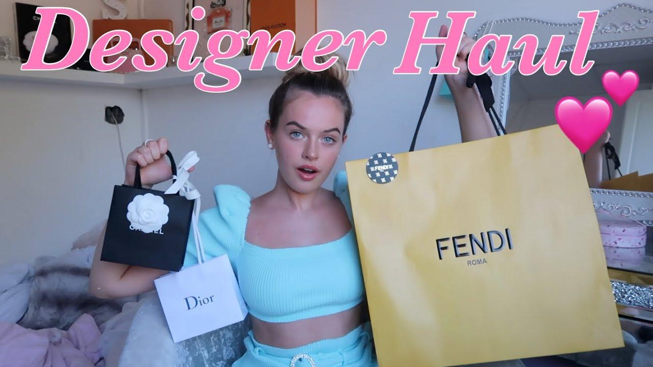 DESIGNER LONDON HAUL🤪- Chanel, Fendi & More!!💕