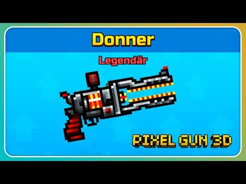 Donner Gekauft! Die Richtig Krasse Laserwaffe!   Pixel Gun 3D