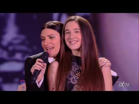 Laura Pausini com Matilde - LIMPIDO @ IO CANTO Christmas ♥