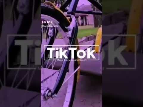La bicintacleta, el invento de Lanús que ya es furor en las redes sociales