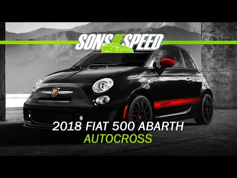 Autocross Review - Fiat 500 Abarth Automatic | Sons of Speed