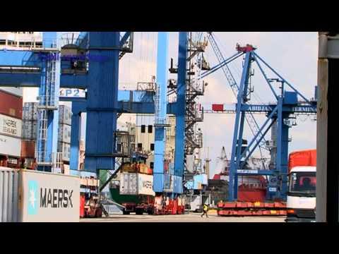Abidjan Terminal (Réception portiques) - Bolloré Ports